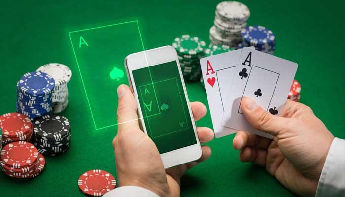 Use online poker